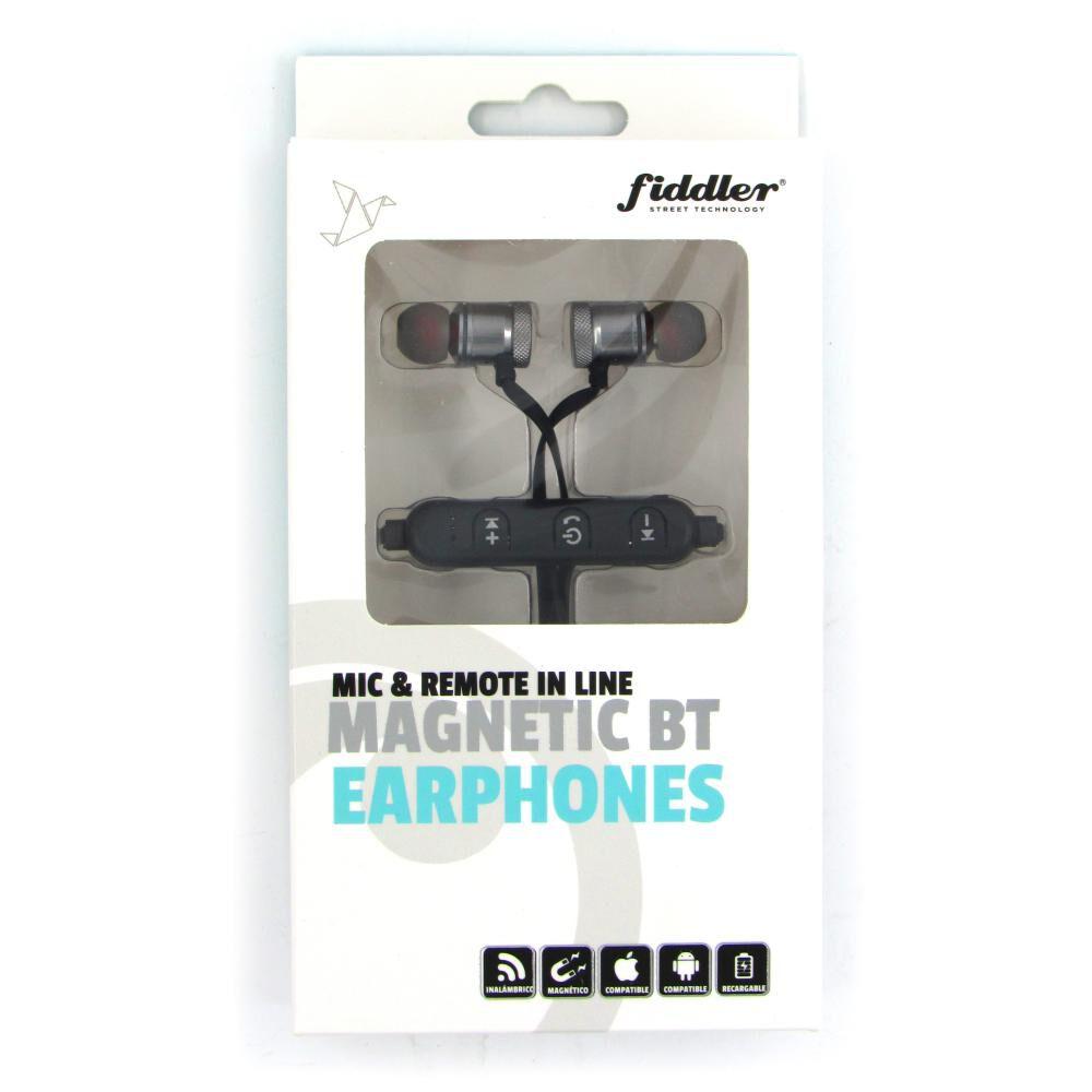 Audífonos Bluetooth Fiddler Magnético Silver image number 2.0