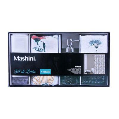 Set De Baño Mashini Acacia
