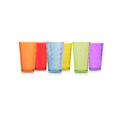 Set De Vasos Mixed / 6 Piezas