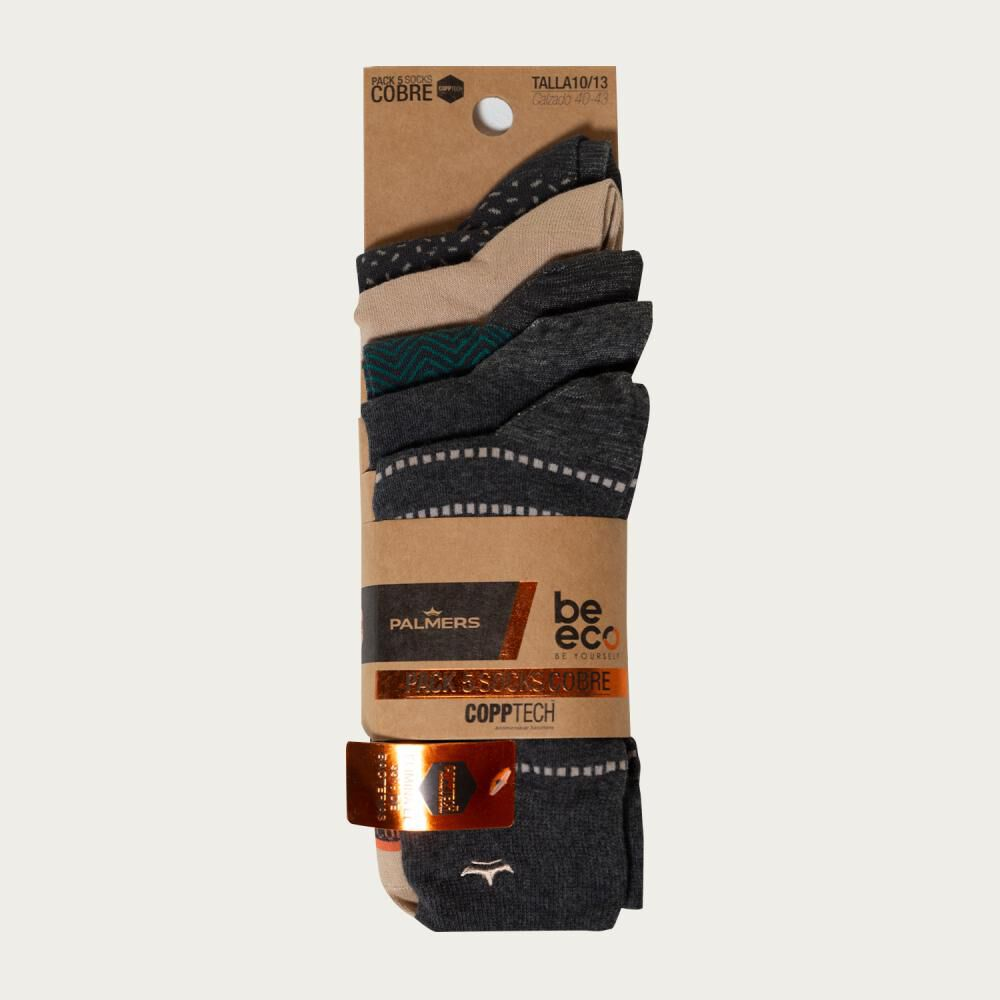 Pack Calcetines Palmers / 5 Pares image number 4.0