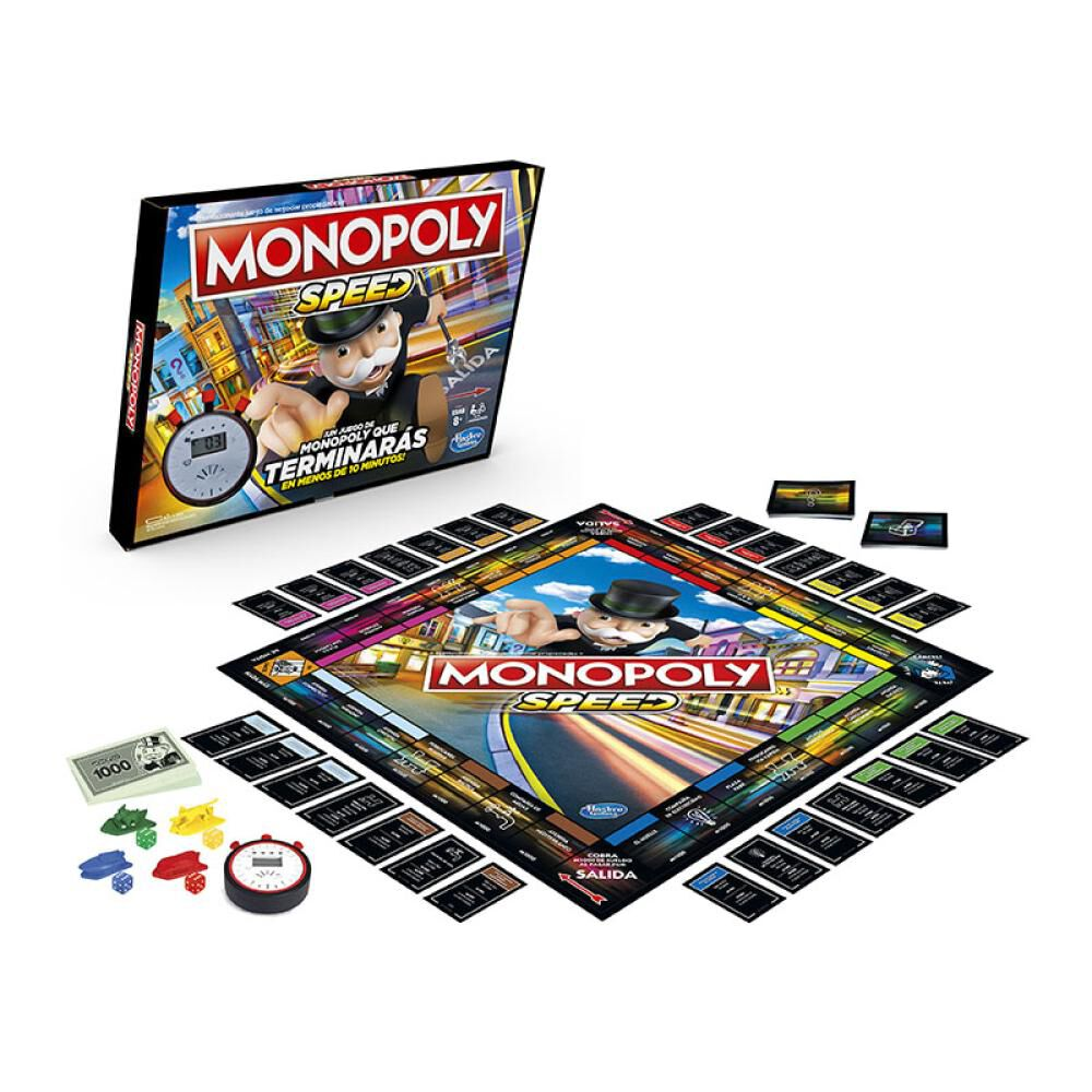 Juegos Familiares Monopoly Speed image number 1.0