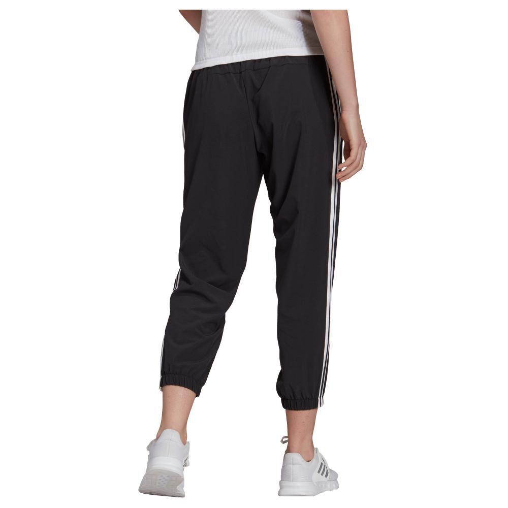 Pantalón De Buzo Mujer Adidas Essentials Woven 3-stripes 7/8 image number 1.0