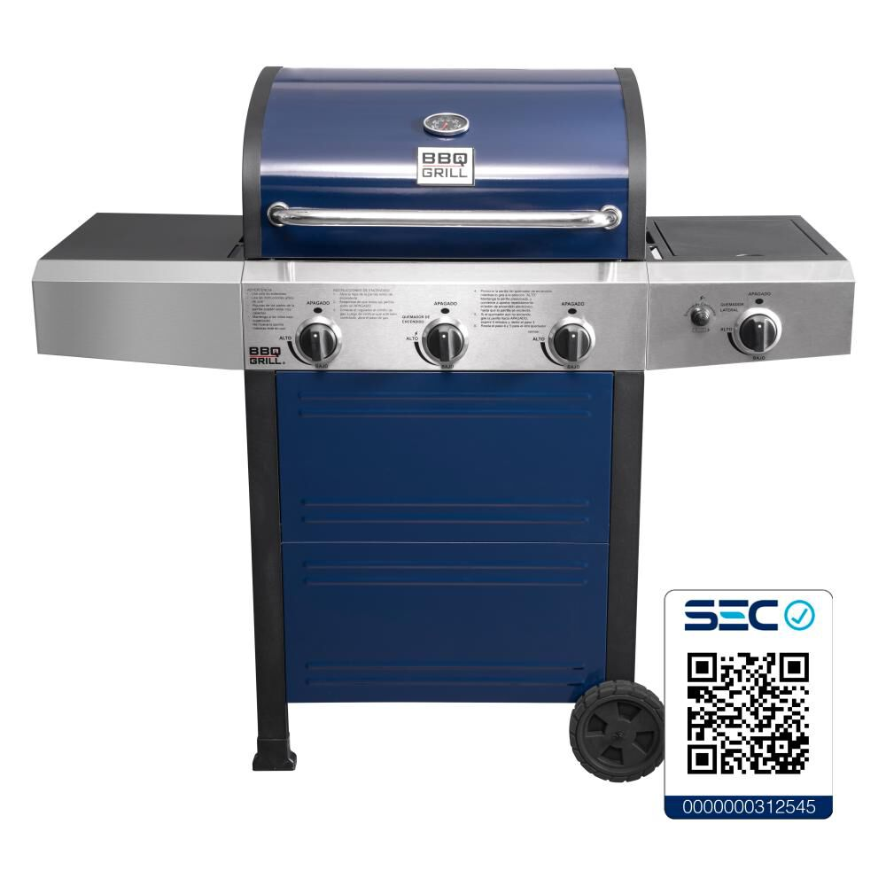 Parrilla A Gas Bbq Grill Bq304gcblue image number 0.0