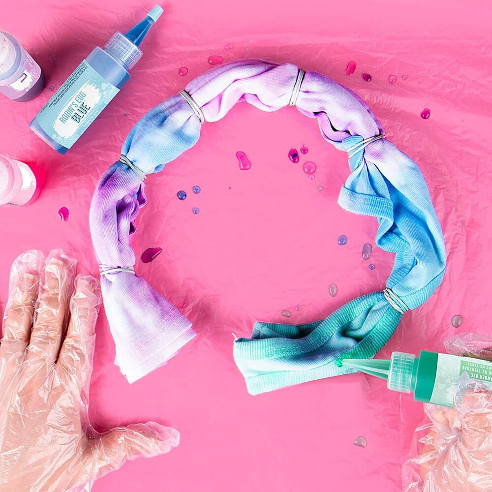 Kit De Teñido Fashions Angels Tie-dye Pastel Tank Top Kit image number 3.0