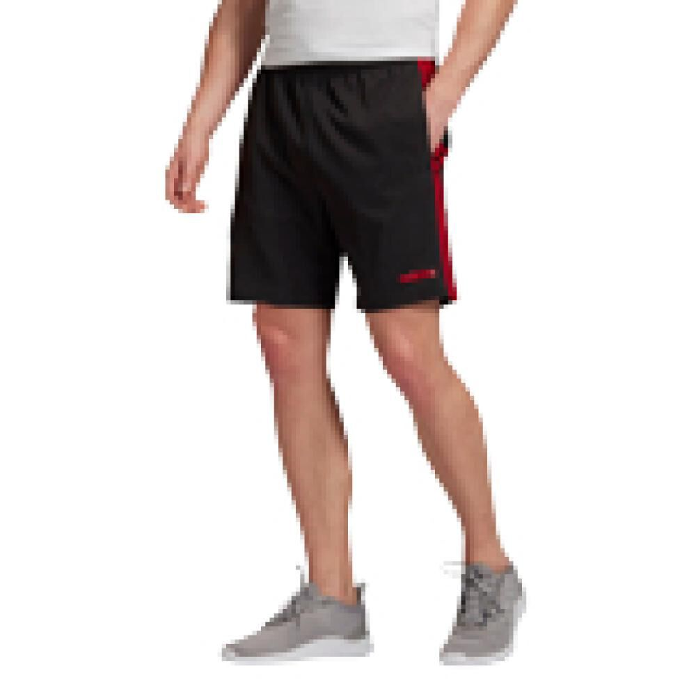 Short Deportivo Hombre Adidas Essentials 3 Stripes 7in Chelsea image number 0.0