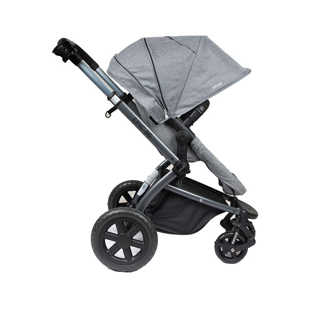 Coche Travel System Infanti System Epic 5g Grey image number 6.0