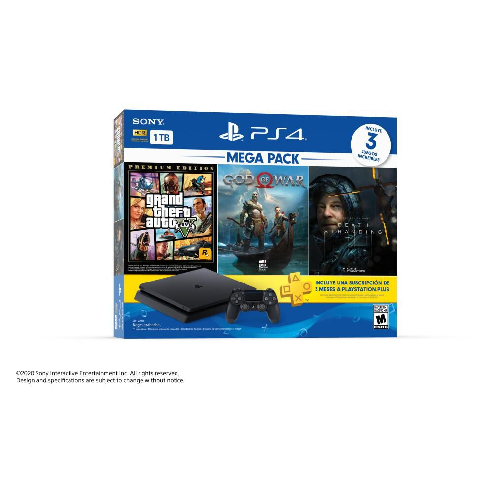 Mega Pack 13 Sony Ps4 Slim 1 TB image number 5.0