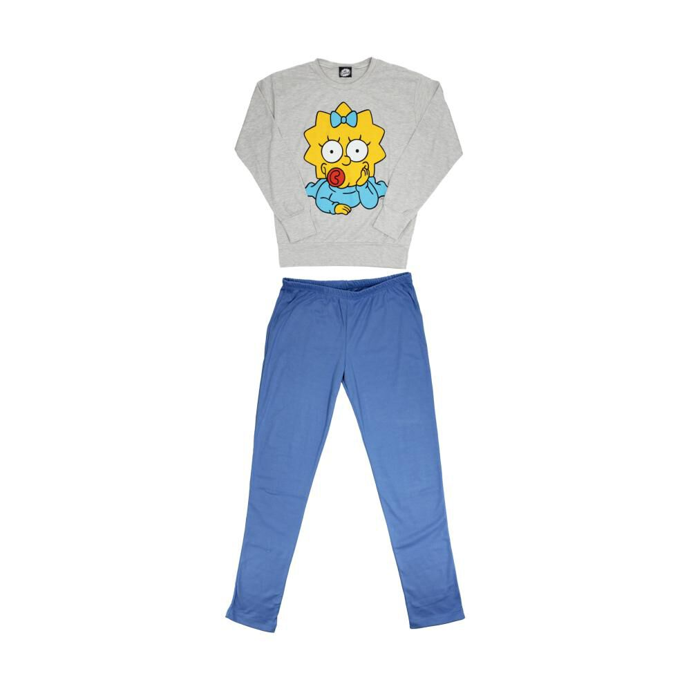 Pijama Unisex Simpsons / 2 Piezas image number 2.0