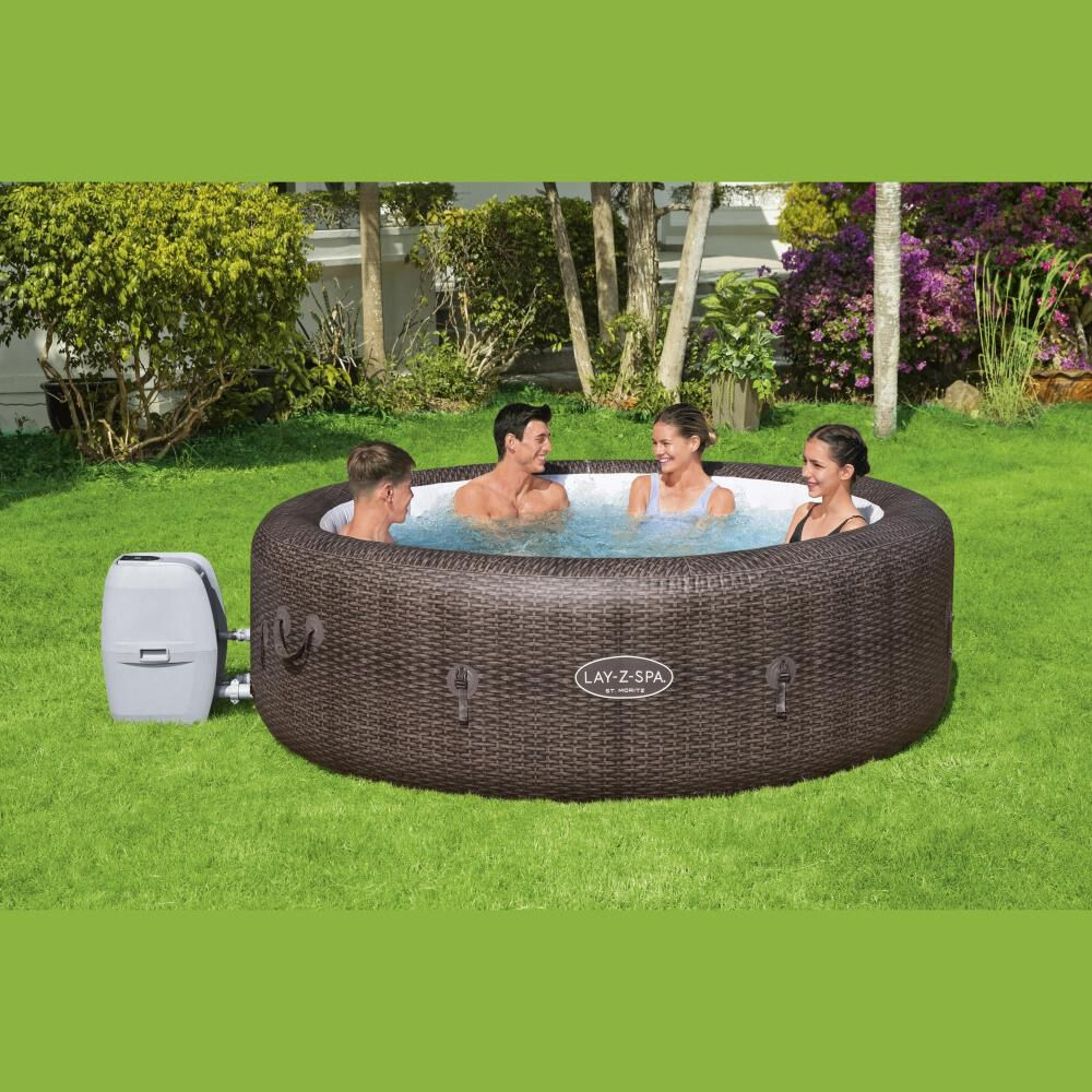 Spa Inflable St. Moritz Airjet Bestway / 5-7 Personas image number 1.0