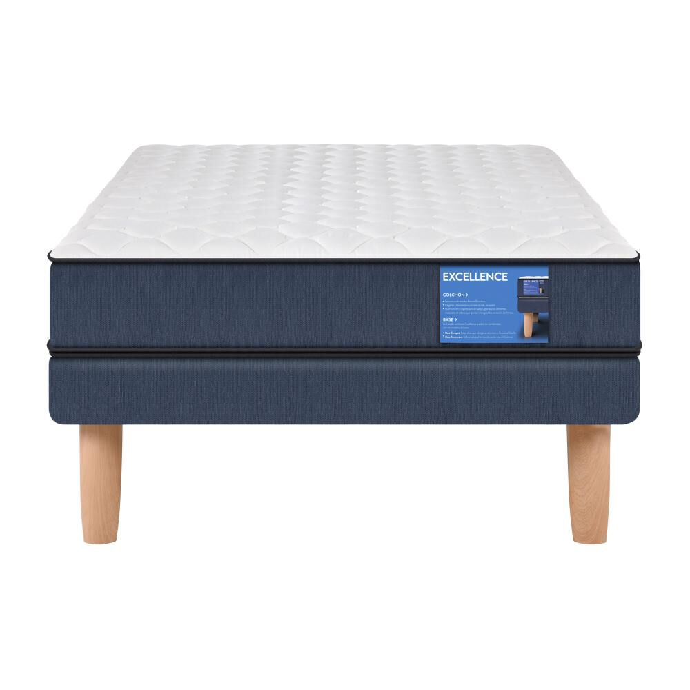 Cama Europea Cic Excellence / 1.5 Plazas / Base Normal image number 0.0