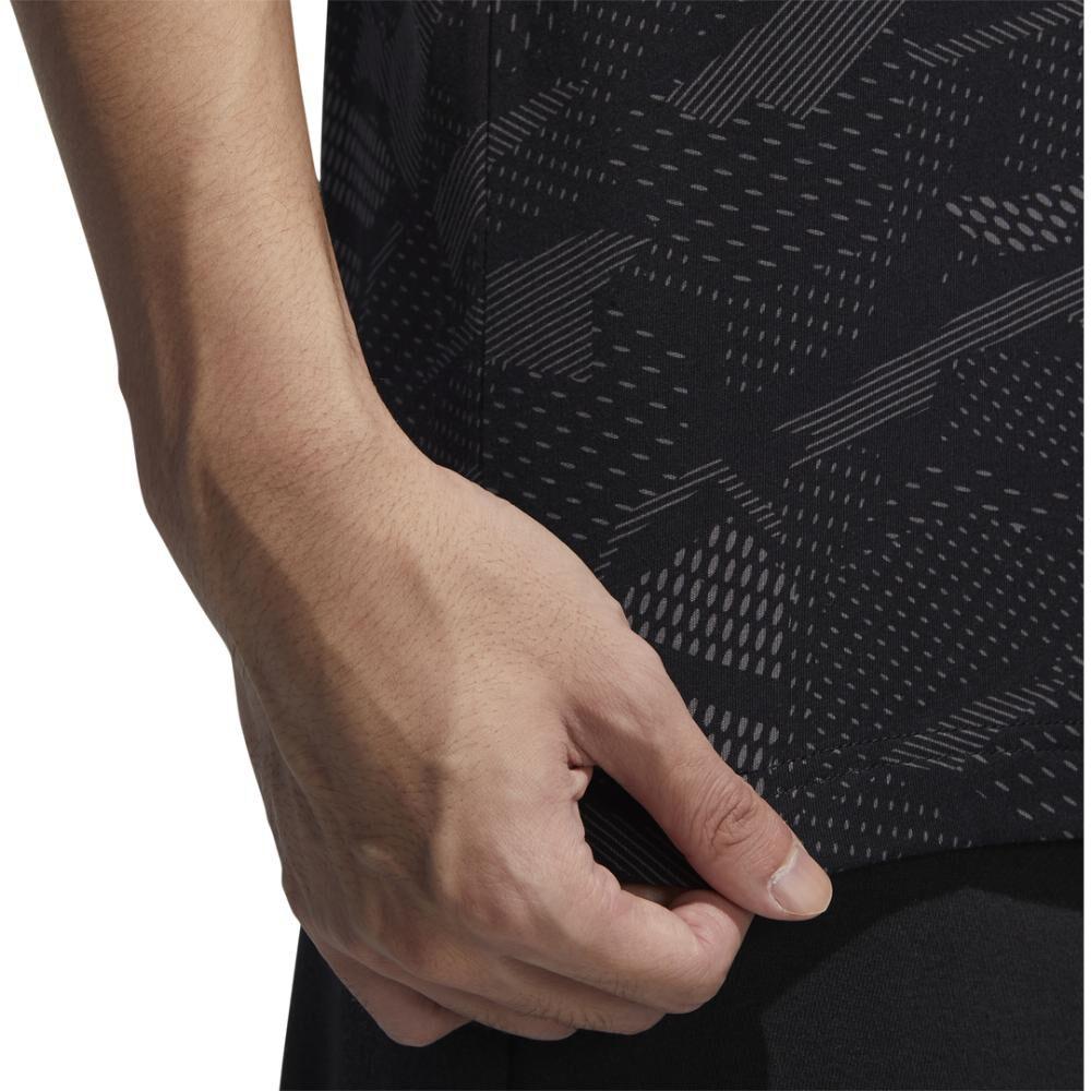 Polera Hombre Adidas Mens Essentials Aop T-shirt image number 7.0