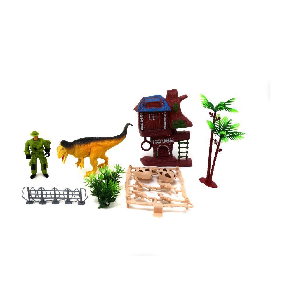 Dino Set House Hitoys image number 1.0