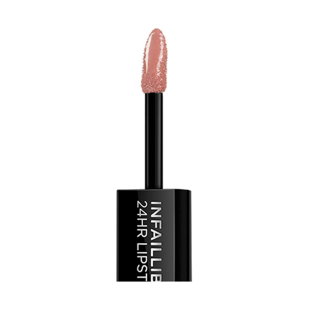 Labial Larga Duración L'oreal Infallible 24hr 2-step 116 Beige To Stay image number 3.0