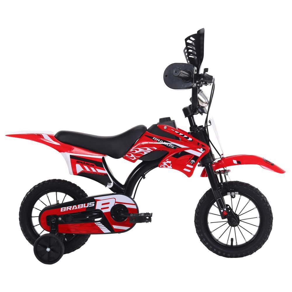 Bicicleta Infantil Brabus Motobike 1200 / Aro 12 image number 0.0