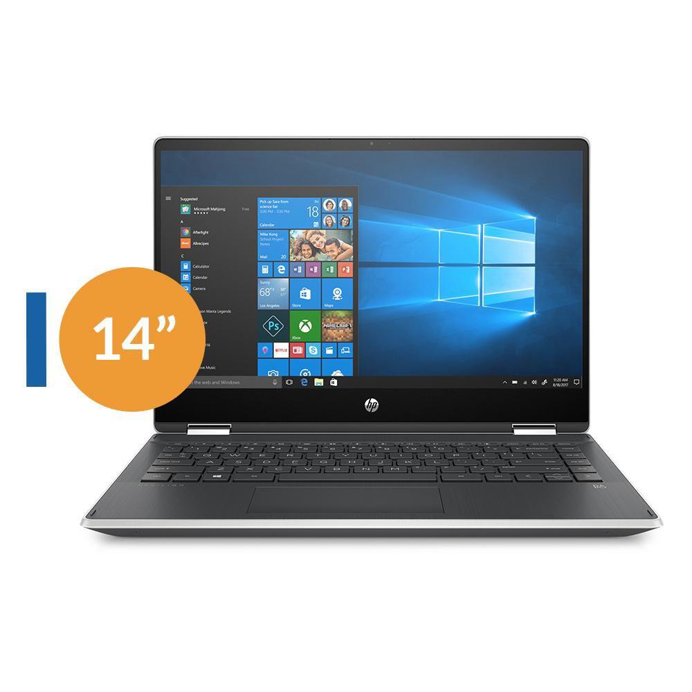 Notebook Hp Pavilion X360 Convertible 14-dh0025la / Intel Core I3 / 4 GB RAM / Intel Uhd 620 / 256 GB / 14'' image number 0.0
