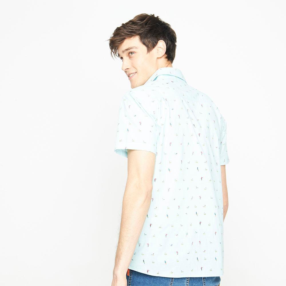 Camisa Sin Mangas Con Diseño Hombre Skuad image number 2.0