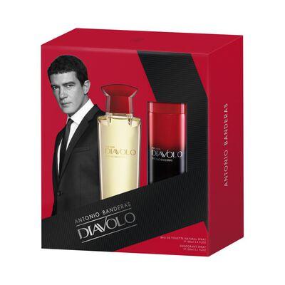 Perfume Antonio Banderas Diavolo / 100 Ml + Desodorante 150 Ml