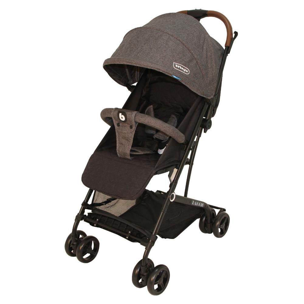 Coche Travel System Compacto Bebeglo RS-13785-3 Gris image number 1.0