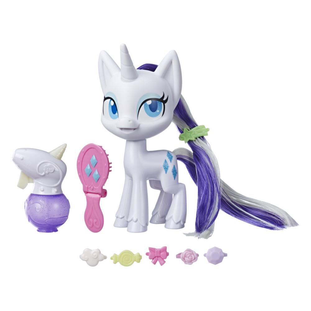 Muñeca My Little Pony Rarity Cabellos Mágicos image number 0.0