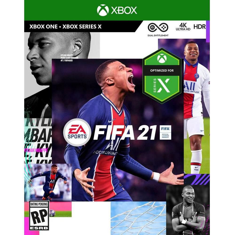 Videojuego Xbox One Fifa 2021 Standard Edition image number 0.0