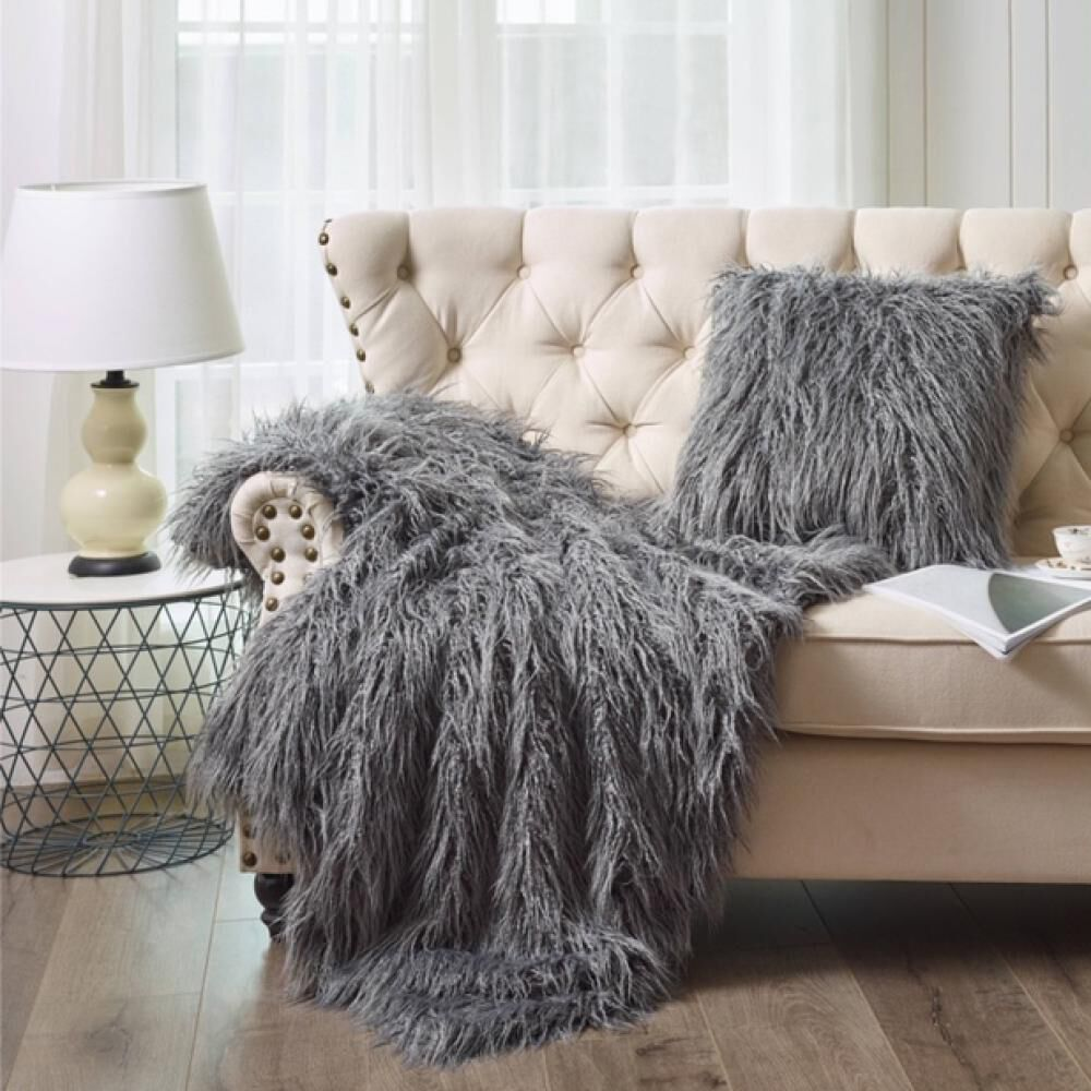 Cojin Azhome Fake Fur image number 0.0