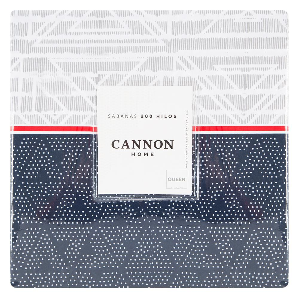 Juego De Sabanas Cannon Nautico / 2 Plazas image number 3.0