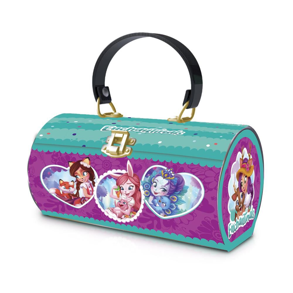 Enpu1 Enchantimals Tin Purse image number 0.0