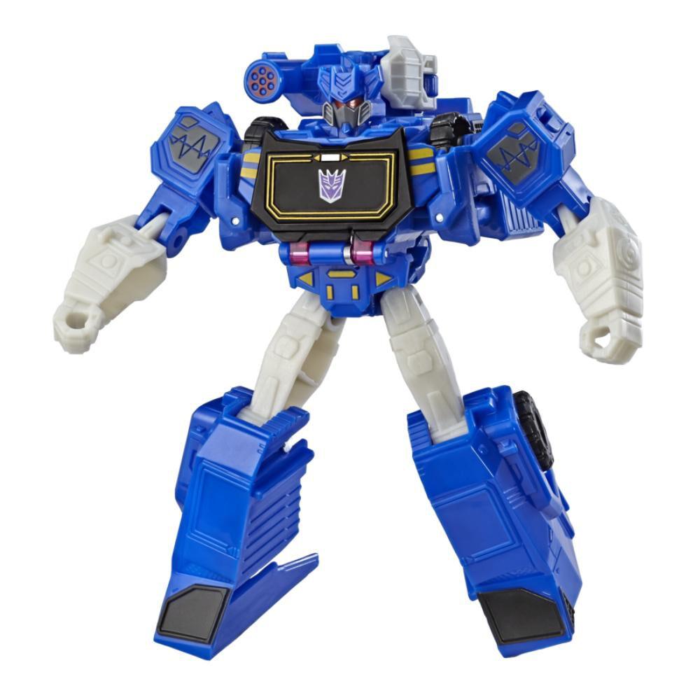 Figura De Accion Transformers Cyberverse Warrior Soundwave image number 6.0
