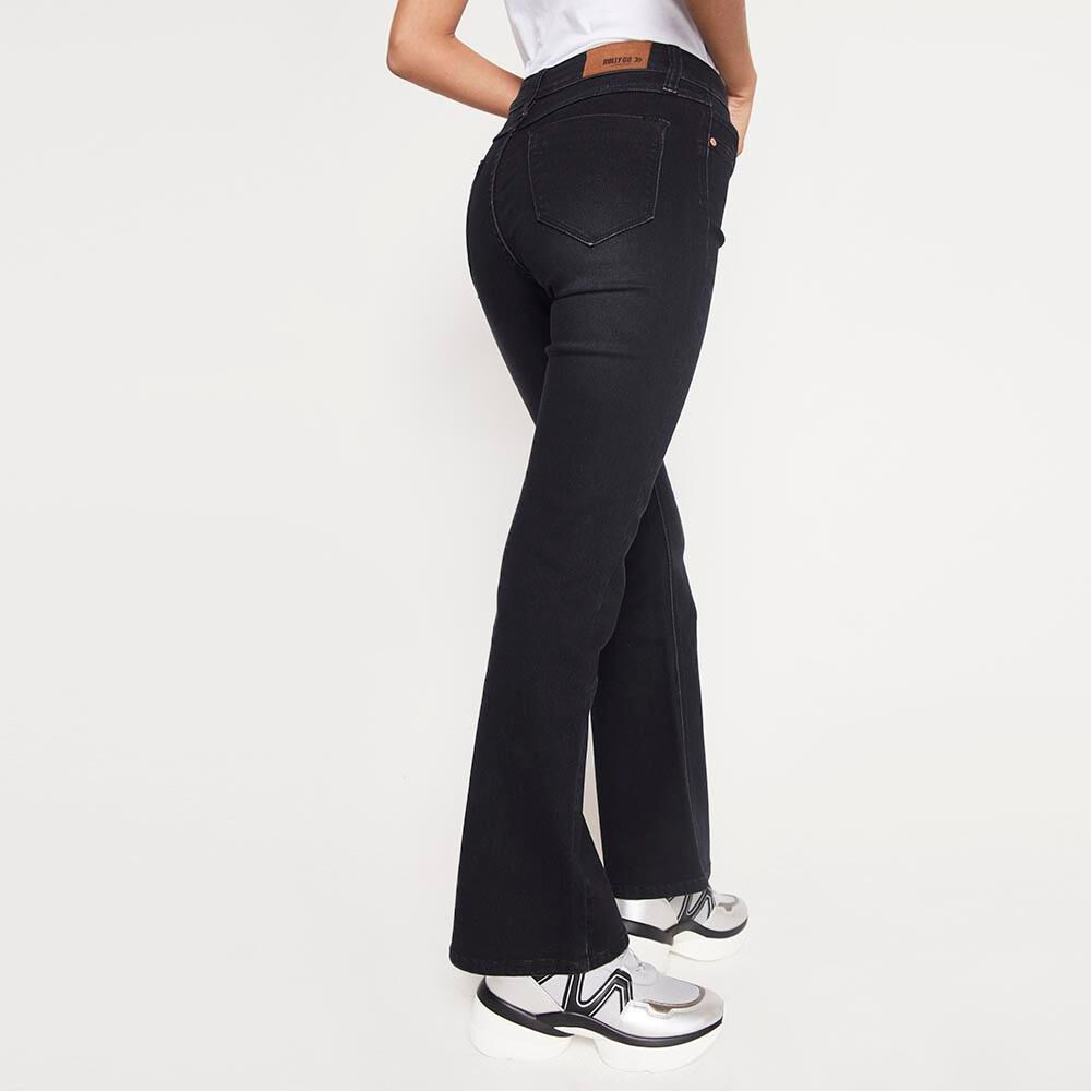 Jeans Mujer Tiro Alto Flare Rolly go image number 2.0