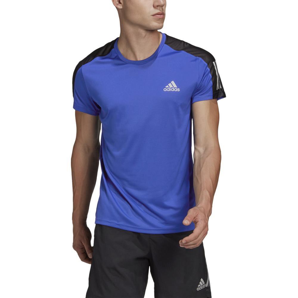 Polera Hombre Adidas Own The Run Tee Men image number 8.0