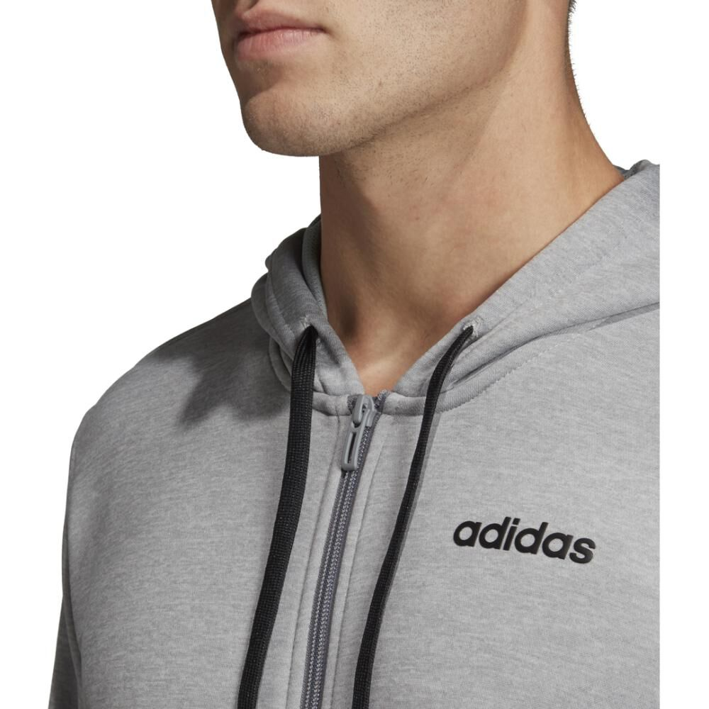 Buzo Con Capucha Hombre Adidas Linear French Terry image number 8.0