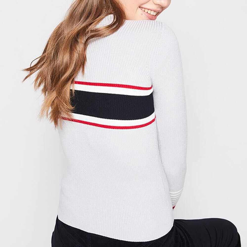 Sweater Rayas Mujer Freedom image number 2.0