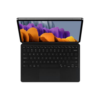 """Tablet Galaxy S7 + Keyboard Cover / 6 GB RAM / 128 GB / WIFI / 4G / Mystic Silver / 11"""""""