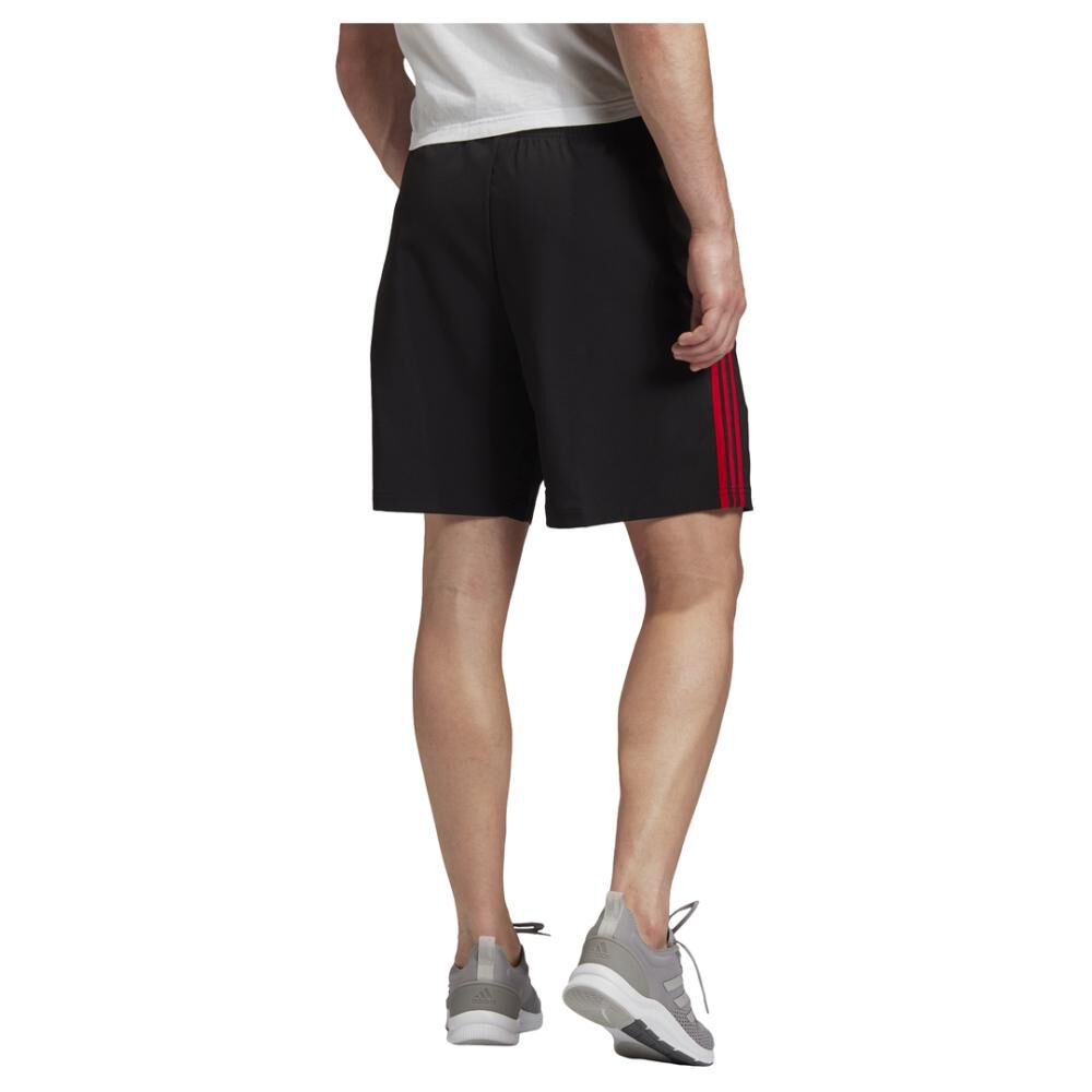 Short Deportivo Hombre Adidas Essentials 3 Stripes 7in Chelsea image number 3.0