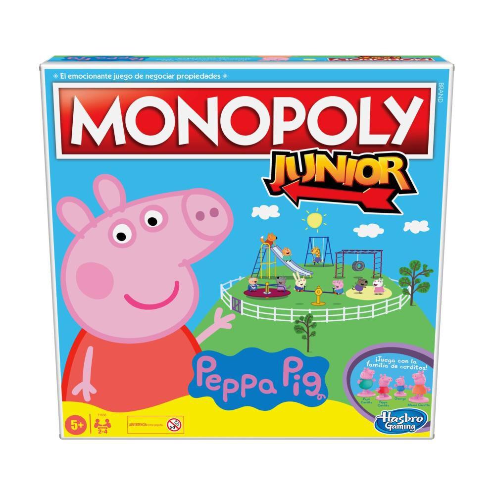Juegos Infantiles Monopoly Junior Peppa Pig image number 0.0