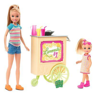 Muñeca Barbie Stand De Limonada
