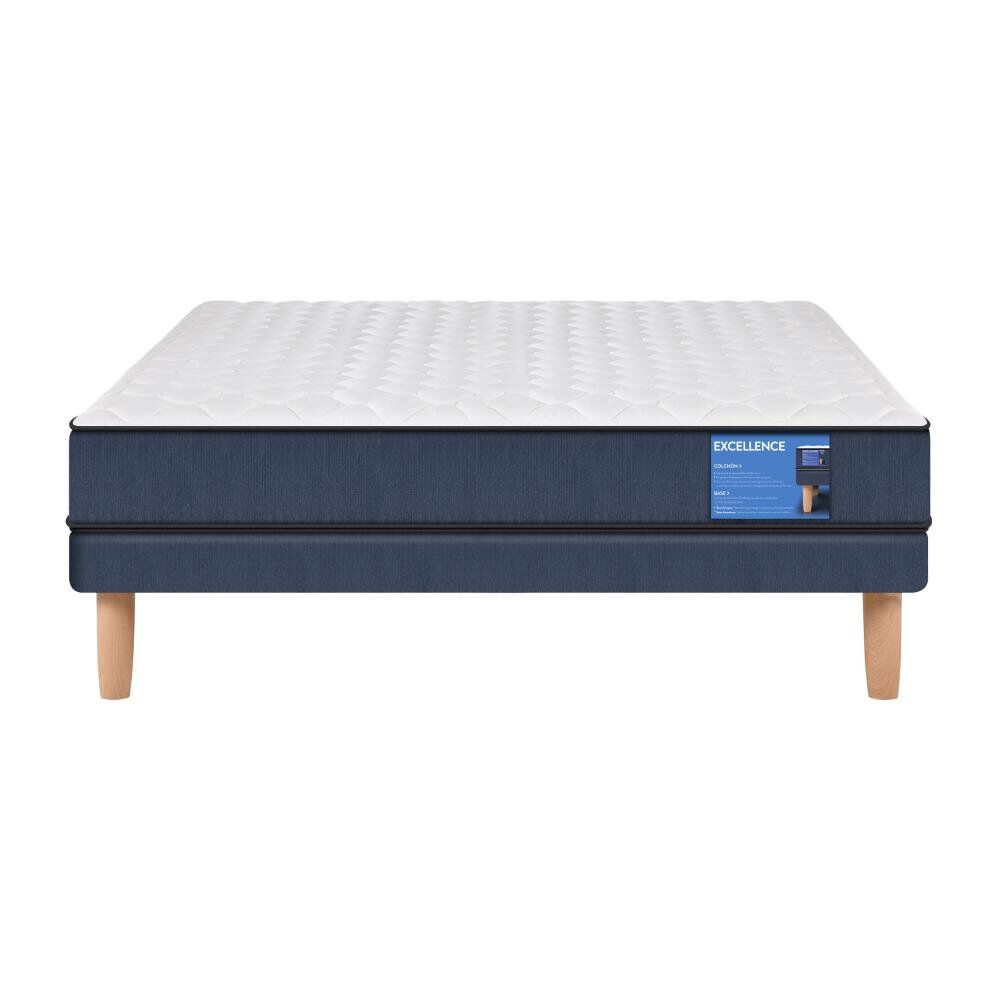 Cama Europea Cic Excellence / 2 Plazas / Base Normal image number 0.0