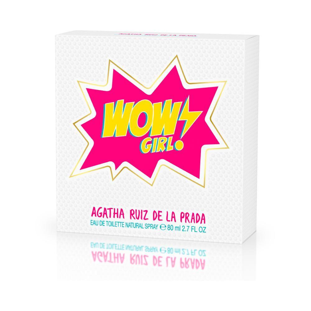 Perfume Agatha Ruiz Wow Girl/ 80 Ml / Edt image number 2.0