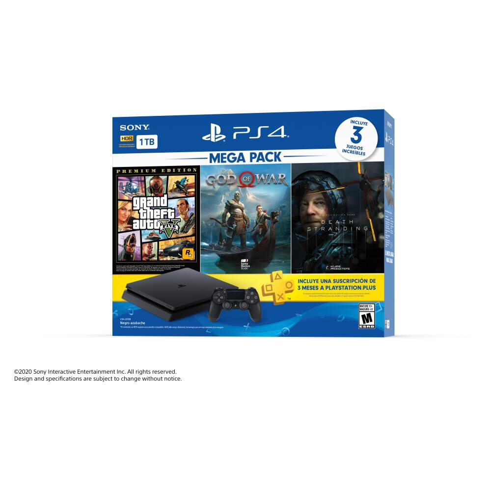 Mega Pack 13 Sony Ps4 Slim 1 TB image number 6.0