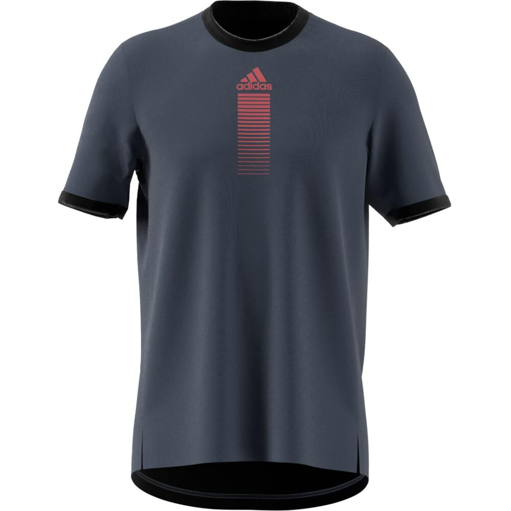 Polera Hombre Adidas Activated Tech image number 7.0