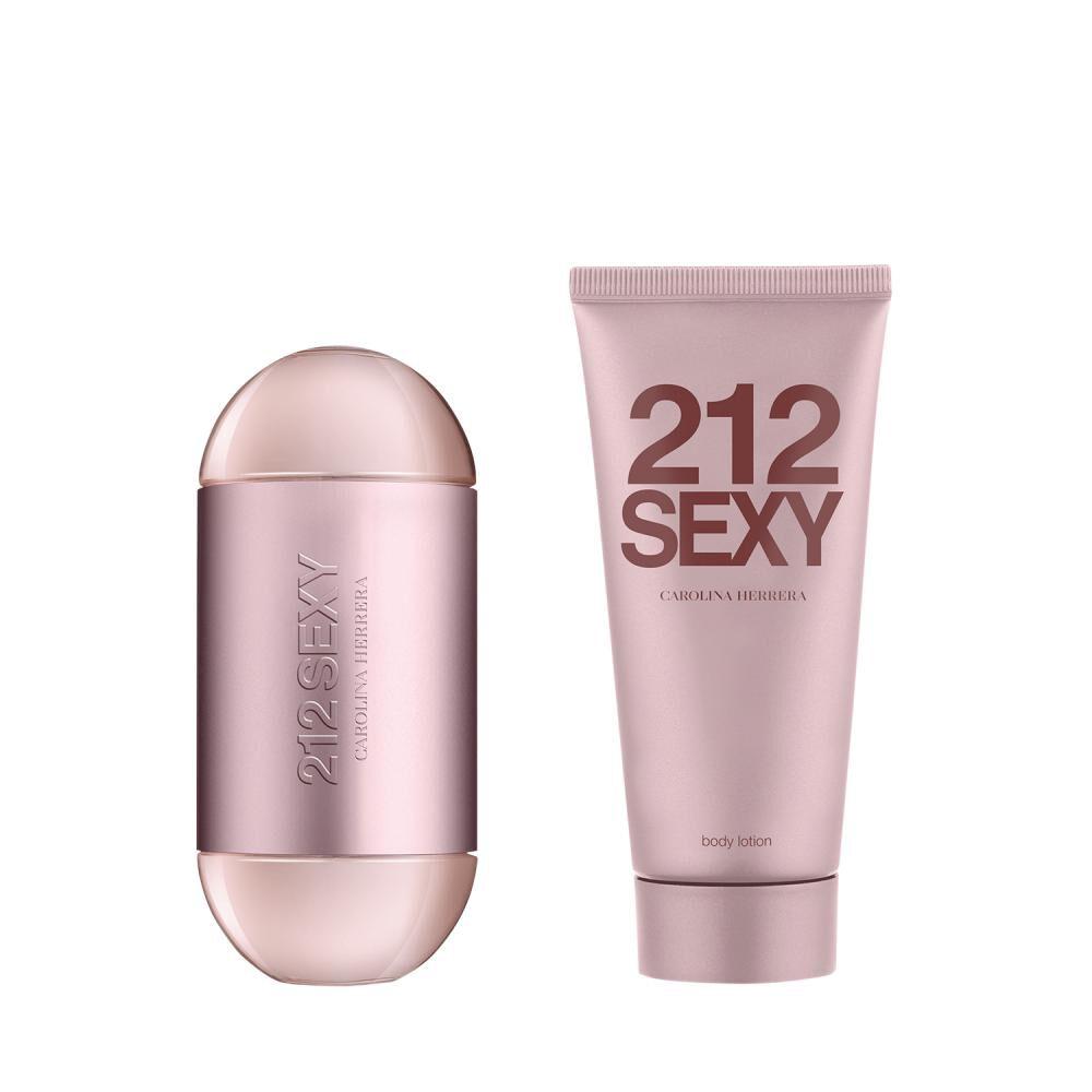 Set 212 Sexy Edp 100 Ml + Body Lotion 100 Ml Carolina Herrera image number 0.0