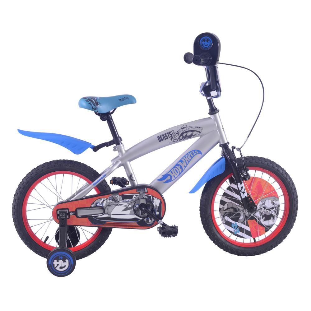 Bicicleta Infantil Bianchi Hot Wheels 16 / Aro 16 image number 0.0