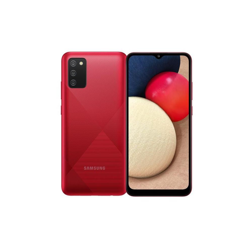 Smartphone Samsung A02S Rojo / 32 Gb / Liberado image number 0.0