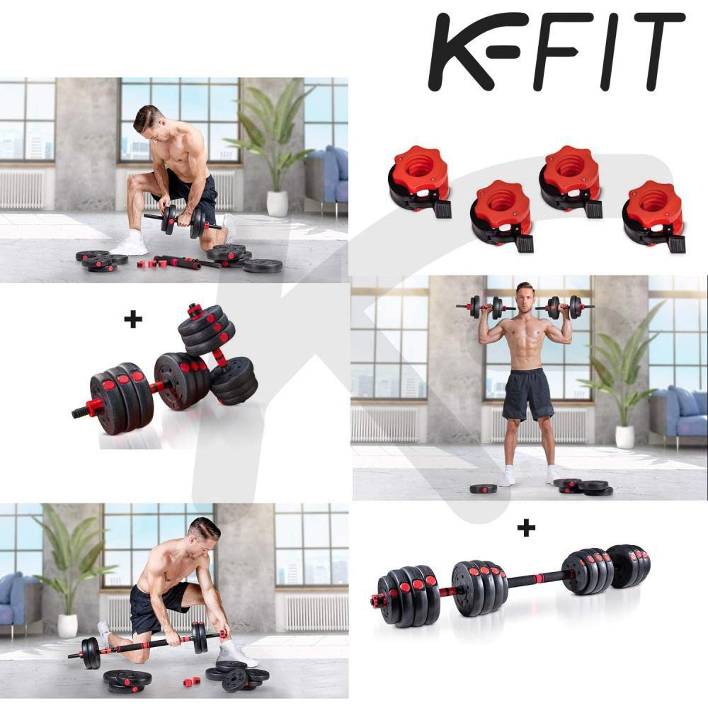 Set De Mancuernas K-fit R6003 image number 3.0