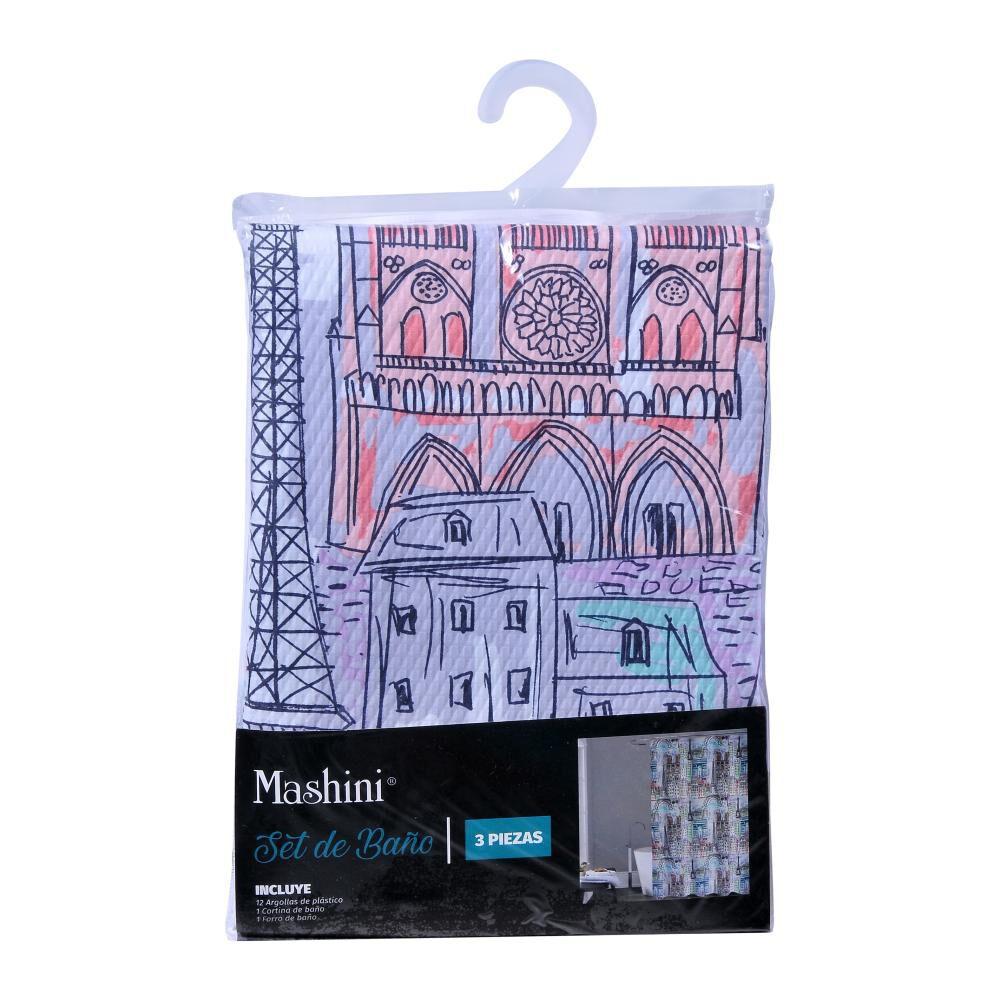 Set Mashini Paris 3 Piezas image number 1.0