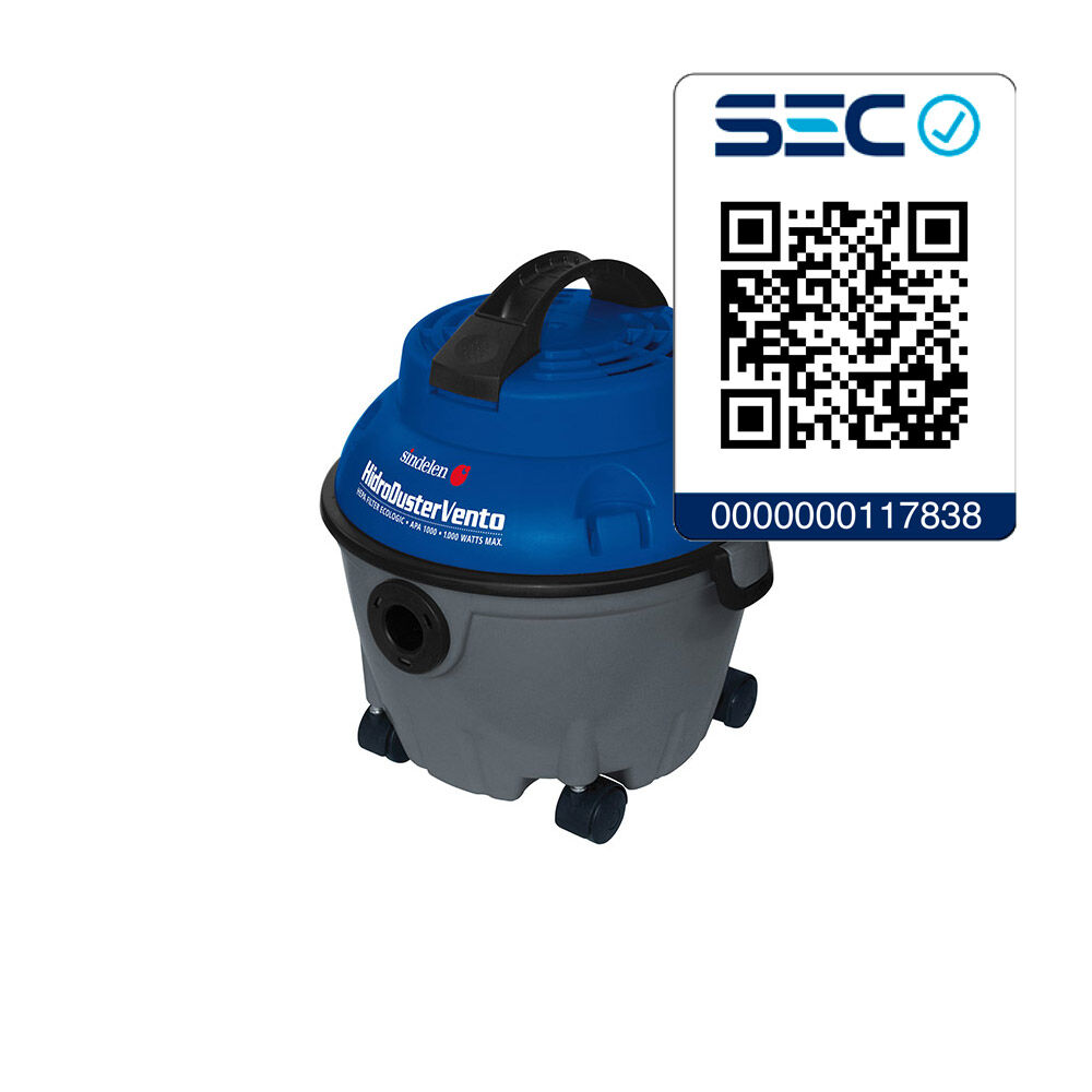 Aspiradora Sindelen Apa-1000 Hidro Duster Vento image number 1.0