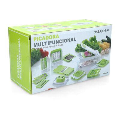 Cortador De Verduras Casaideal Multifuncional / 13 Piezas