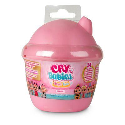 Muñeca Cry Babies Bebes Llorones Casa De Lagrimas Rosado