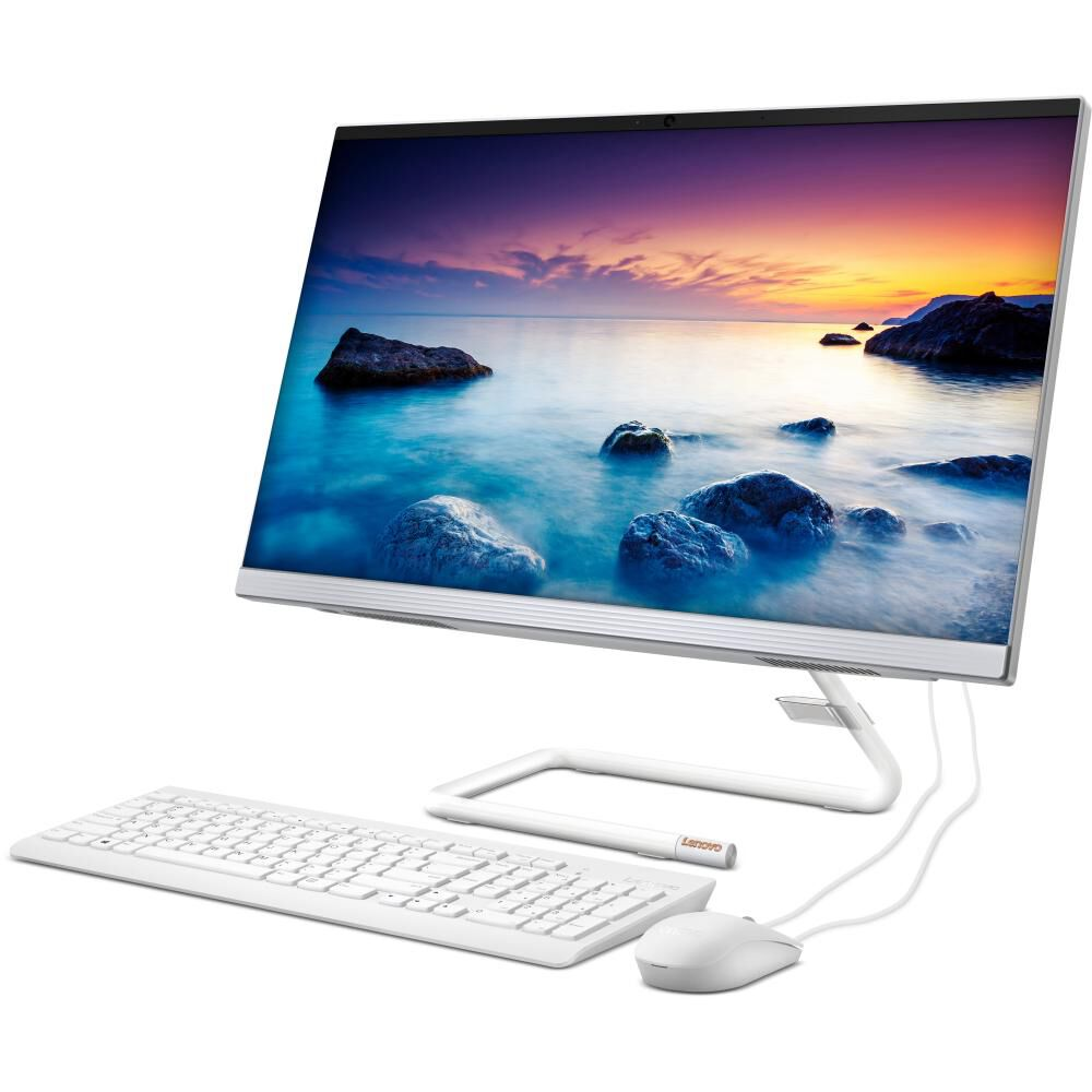 """All In One Lenovo Ideacentre A340-24IWL / Intel Core I3 / 8 GB Ram / 512 GB SSD / 23.8 """" image number 1.0"""