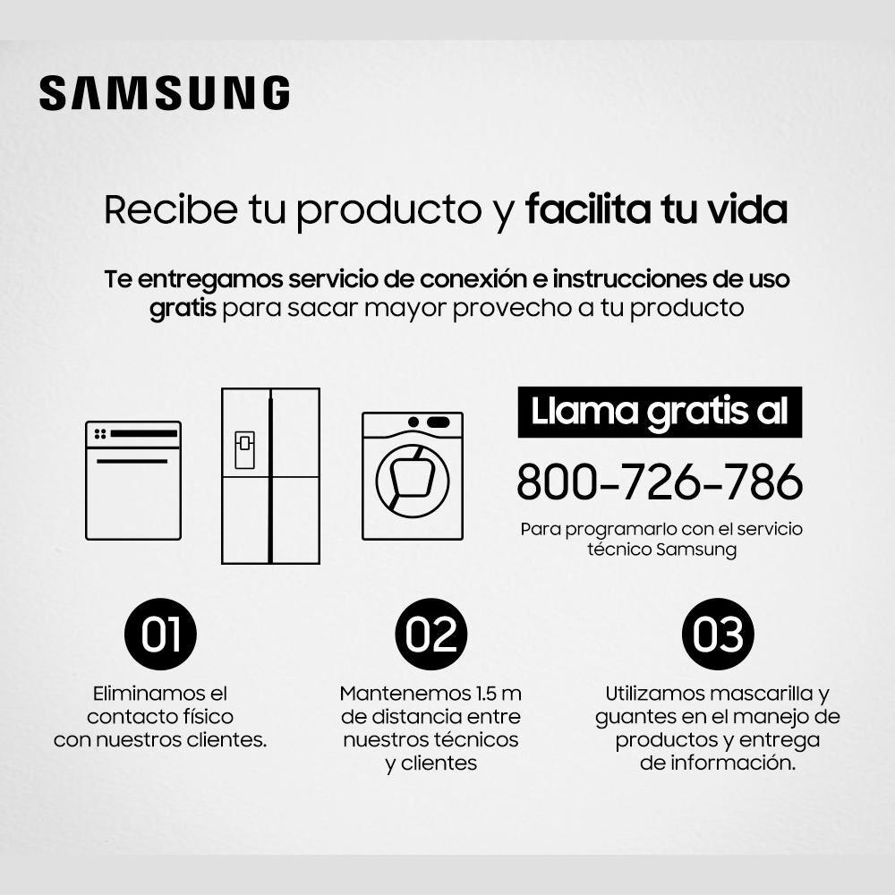 Lavadora - Secadora Samsung Wd10j6410aw 10.5 Kg / 6 Kg image number 5.0